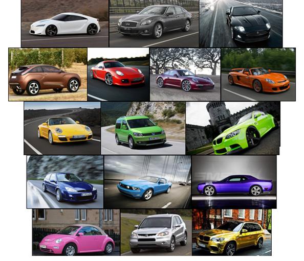 Фото автомобилей с цветами